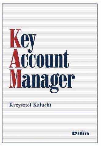 Key Account Manager - okładka książki