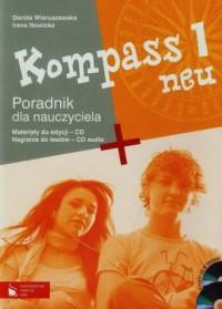 Kompass neu 1. Poradnik dla nauczyciela (+ 2CD) - okładka podręcznika