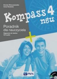 Kompass neu 4. Poradnik dla nauczyciela (+ CD) - okładka podręcznika