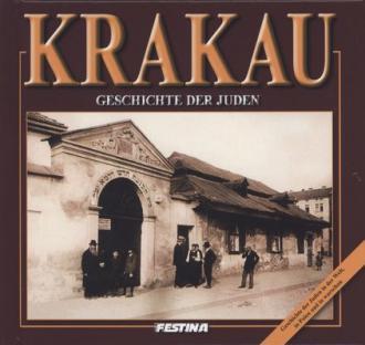 Kraków. Historia Żydów (wersja - okładka książki