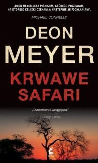 Krwawe safari - okładka książki