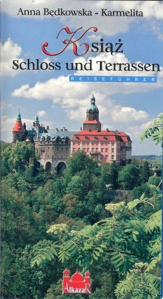 Książ zamek i tarasy (wersja niem.) - okładka książki