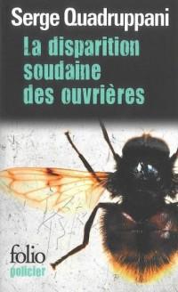 La disparition soudaine des ouvrires - okładka książki