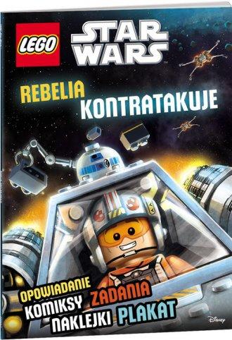 LEGO Star Wars. Rebelia kontratakuje - okładka książki