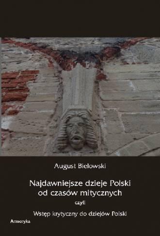 Najdawniejsze dzieje Polski od - okładka książki