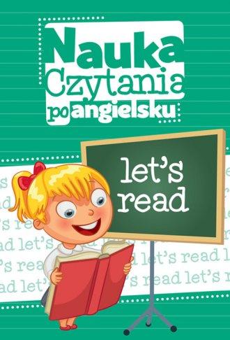 Nauka czytania po angielsku - okładka podręcznika