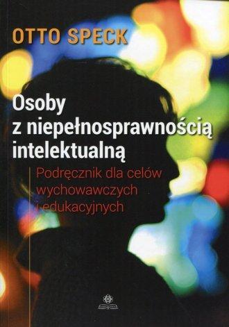 Osoby z niepełnosprawnością intelektualną. - okładka książki