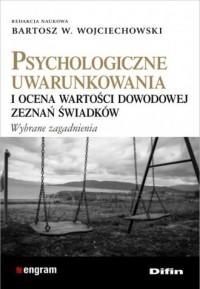 Psychologiczne uwarunkowania i - okładka książki