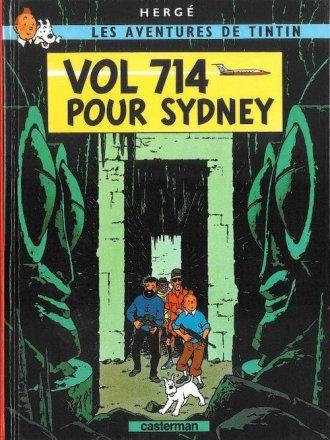 Tintin. Vol 714 pour Sydney - okładka książki