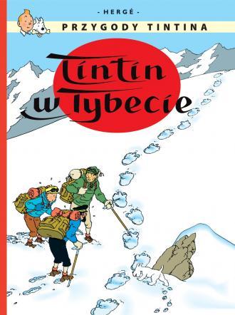 Tintin w Tybecie. Tom 20 - okładka książki