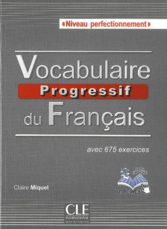 Vocabulaire progressif du français. - okładka podręcznika