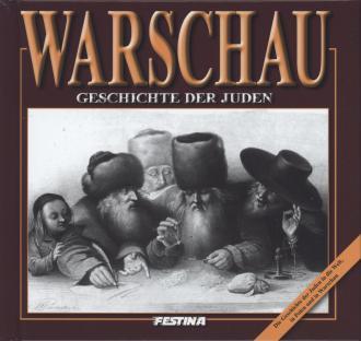 Warszawa. Historia Żydów (wersja - okładka książki