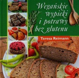 Wegańskie wypieki i potrawy bez - okładka książki