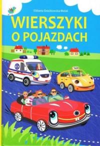 Wierszyki o pojazdach - okładka książki