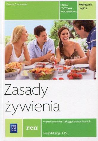 Zasady żywienia. Podręcznik cz. - okładka podręcznika
