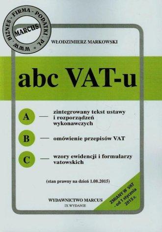 ABC VAT-u - okładka książki