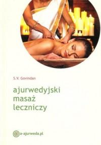 Ajurwedyjski masaż leczniczy - okładka książki