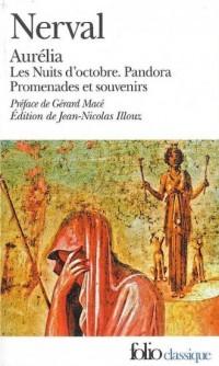Aurelia precede de Les Nuits dOctobre, Pandora et de Promenades et Souvenirs - okładka książki