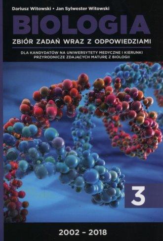 Biologia. Zbiór zadań wraz z odpowiedziami. - okładka podręcznika