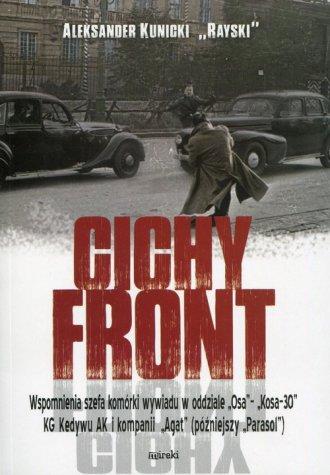 Cichy front - okładka książki