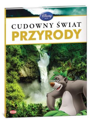 Cudowny świat przyrody. Disney - okładka książki