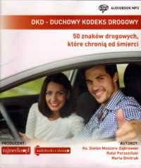 DKD - Duchowy Kodeks Drogowy - okładka książki