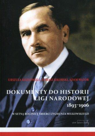 Dokumenty do historii Ligi Narodowej - okładka książki