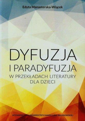 Dyfuzja i paradyfuzja w przekładach - okładka książki