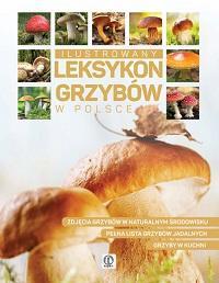 Ilustrowany leksykon grzybów w - okładka książki