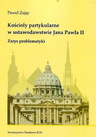 Kościoły partykularne w ustawodawstwie - okładka książki