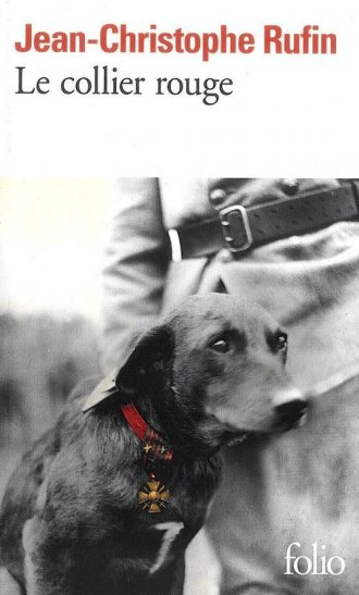 Le collier rouge - okładka książki