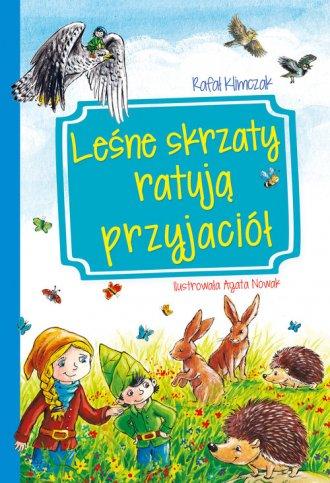 Leśne skrzaty ratują przyjaciół - okładka książki