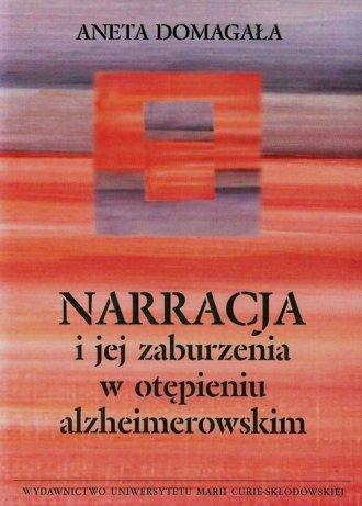 Narracja i jej zaburzenia w otępieniu - okładka książki