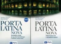 Porta Latina nova. Podręcznik do języka łacińskiego i kultury antycznej. Porta Latina nova. Preparacje i komentarze - okładka podręcznika