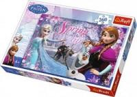 Frozen. Miłość w Krainie Lodu (puzzle 260-elem.) - zdjęcie zabawki, gry