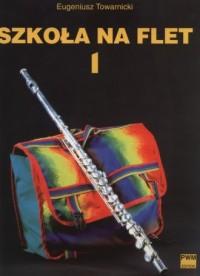 Szkoła na flet cz. 1 - okładka podręcznika