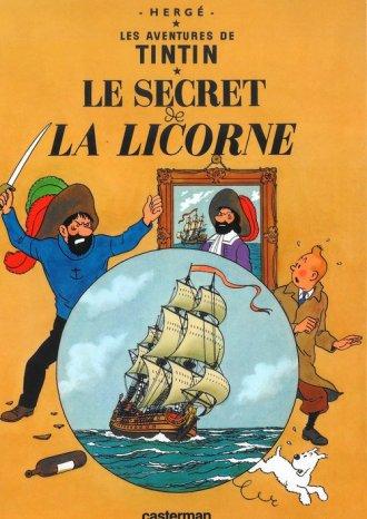 Tintin. Le Secret de La Licorne - okładka książki