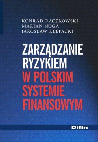 Zarządzanie ryzykiem w polskim - okładka książki