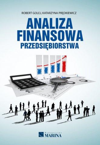 Analiza finansowa przedsiębiorstwa - okładka książki
