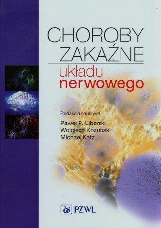 Choroby zakaźne układu nerwowego - okładka książki