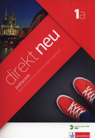 Direkt Neu 1A. Podręcznik (+ CD). - okładka podręcznika