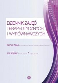 Dziennik zajęć terapeutycznych - okładka książki