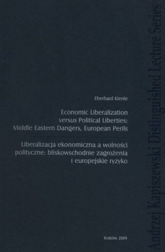 Economic liberalization versus - okładka książki