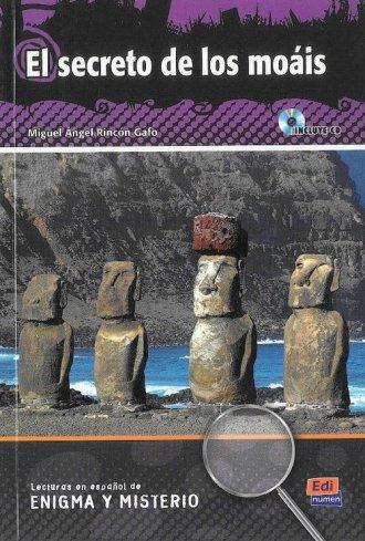El secreto de los moais (+ CD) - okładka książki