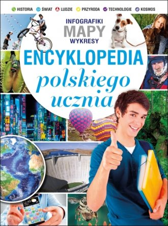Encyklopedia polskiego ucznia - okładka książki