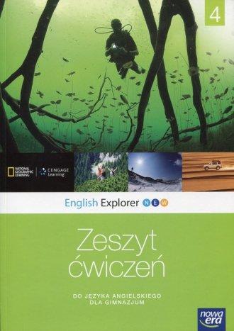 English Explorer New 4. Gimnazjum. - okładka podręcznika
