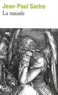 La nausee - okładka książki