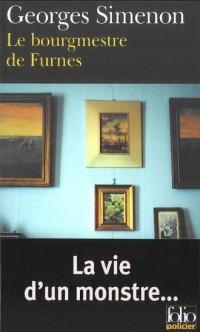 Le Bourgmestre de Furnes - okładka książki
