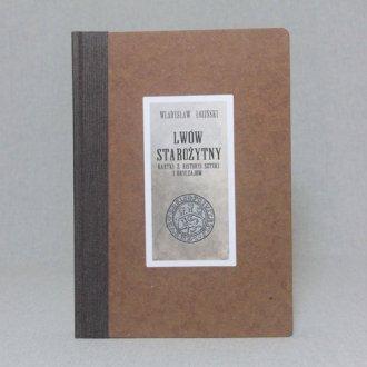 Lwów starożytny. Złotnictwo lwowskie - okładka książki