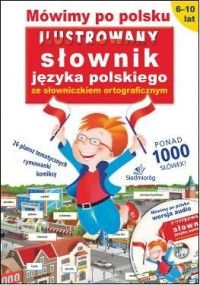 Mówimy po polsku. Ilustrowany słownik - okładka podręcznika
